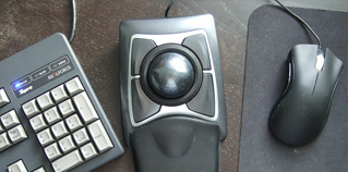 Ergonomic mouse for computer