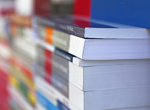 Stack of Training Manuals