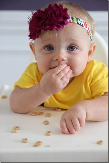 Cute Baby looking at camera