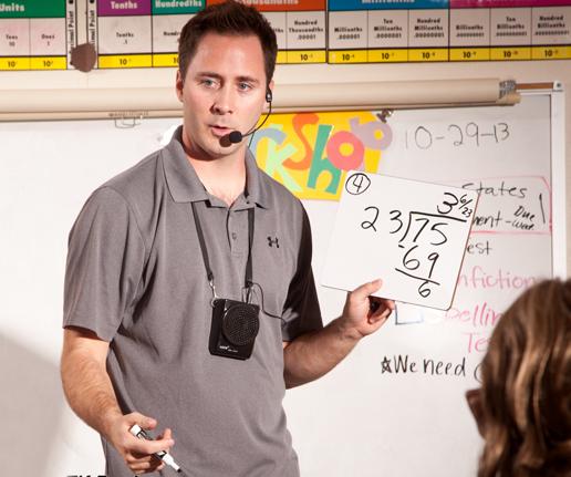 Teacher Using Speech AT