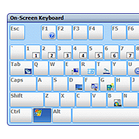 Onscreen Keyboard (detail)