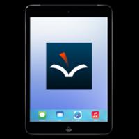 iPad with VoiceDreamer Reader App