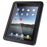 iPad with case
