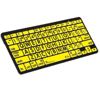 Large-Print BlueTooth Keyboard (Mini)