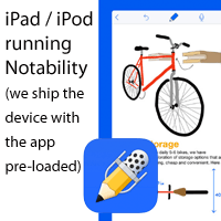 iPad or iPod with Notability