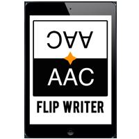 iPad with Flip Writer App