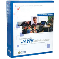 JAWS Screenreading Software