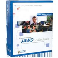 JAWS Screenreading Software