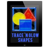 Trace 'N Glow Shapes App