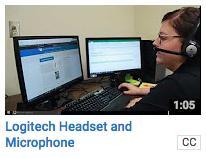 Computer Access - Logitech headset