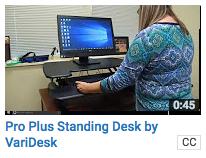 Pro Plus Standing Desk (VariDesk)