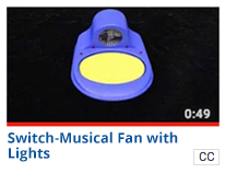 Musical Fan with Lights (switch)
