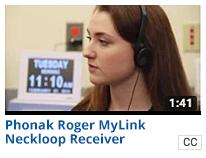 Phonak Roger MyLink Neckloop Receiver